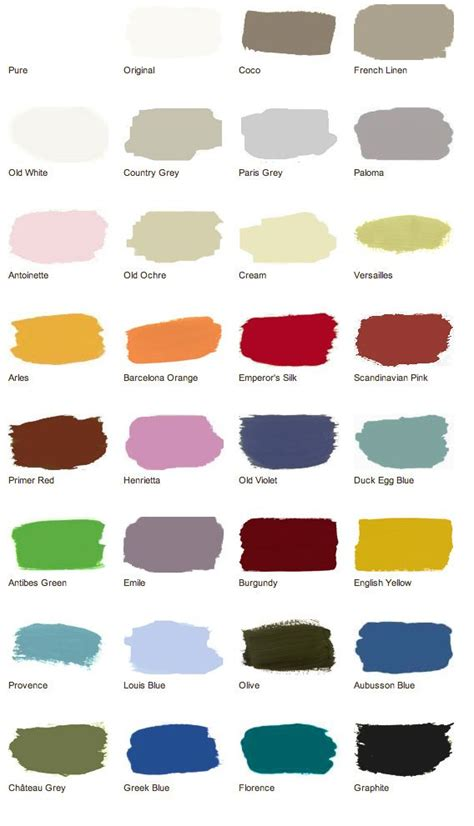 chalk paint colours canada 17 best images about sloan color recipes on