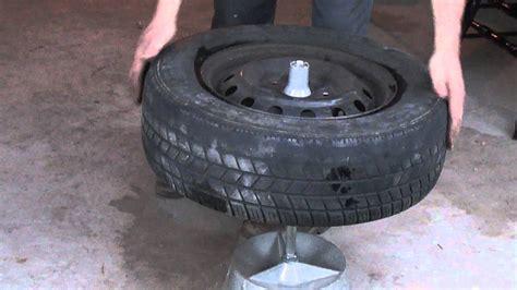 balance for tires balancing a tire with a balancer