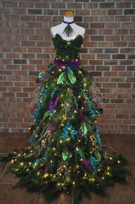 dressed trees tree dress b