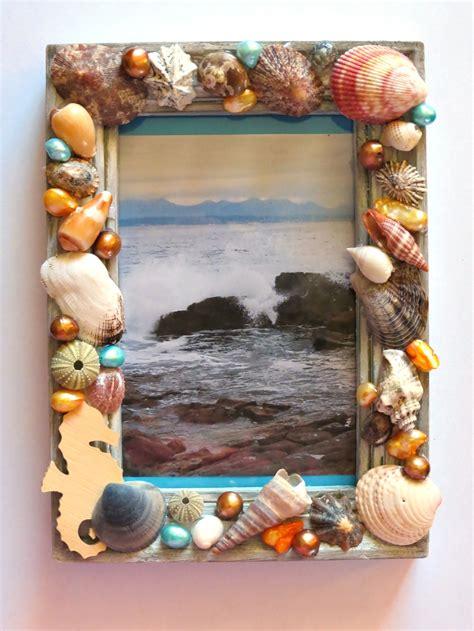 seashells picture frame craft favecrafts com