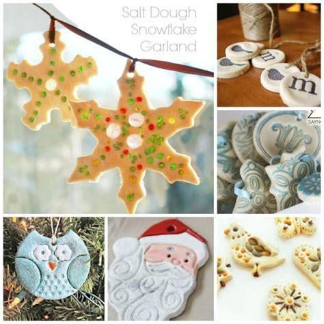 salt dough crafts for salt dough crafts ornaments ted s