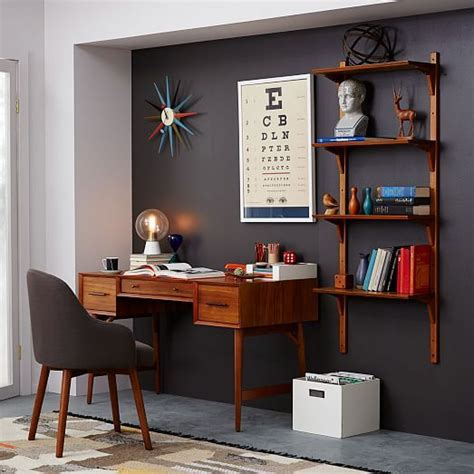 mid century office desk 25 best ideas about bookshelf desk on