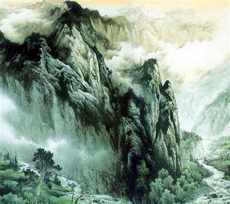znag painting zhang daqian painting