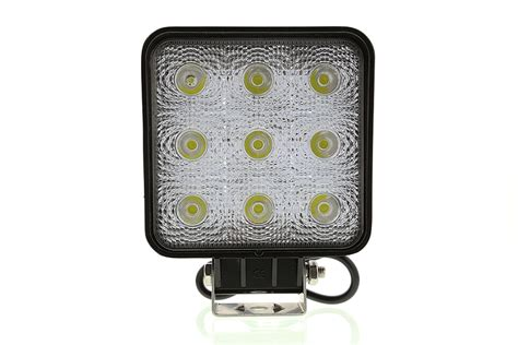 how led lights work 5 quot square 27w heavy duty high powered led work light led