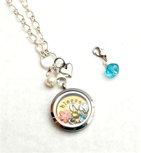 origami owl diy diy beaded necklace charm one artsy