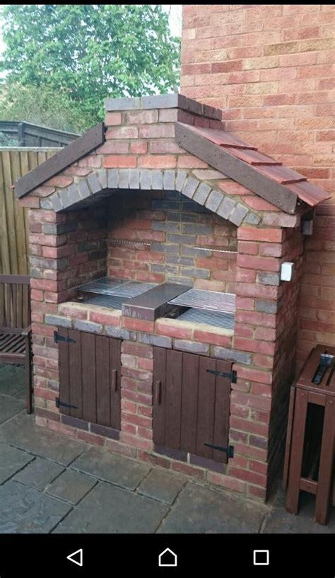 backyard bbq grill company the 25 best brick bbq ideas on brick grill