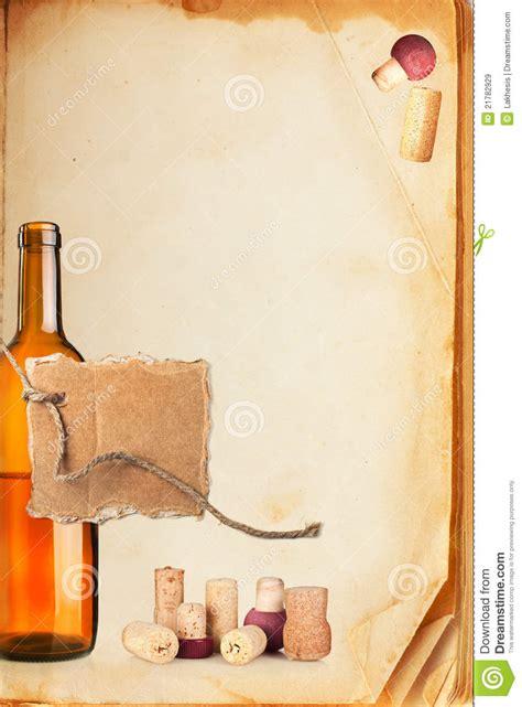 wine bar list menu royalty free stock images image 21782929