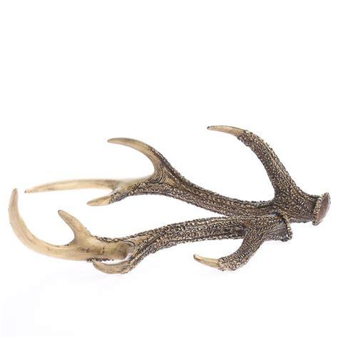 deer antler rustic faux deer antlers decorative accents primitive