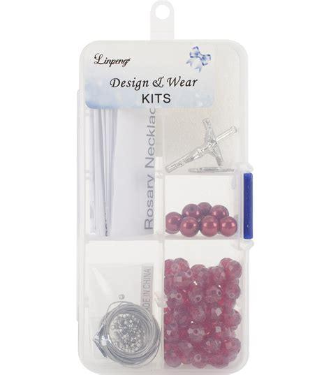 Pearl Rosary Bead Kit Jo