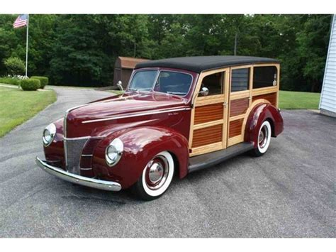 Ford Woody 1940 ford woody wagon for sale classiccars cc 1031561