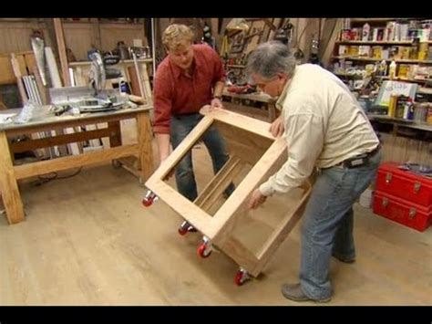 woodworking from home how to build a utility cart this house
