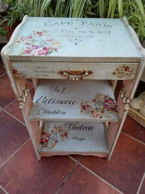 decoupage laminate furniture 162 best images about decoupage muebles furniture on