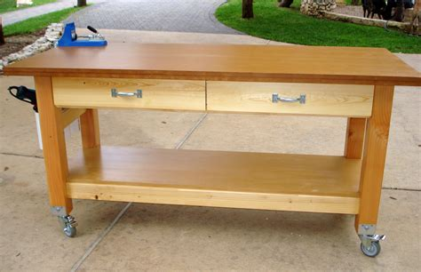 how to build a woodworking workbench wood work roll around workbench plans pdf plans