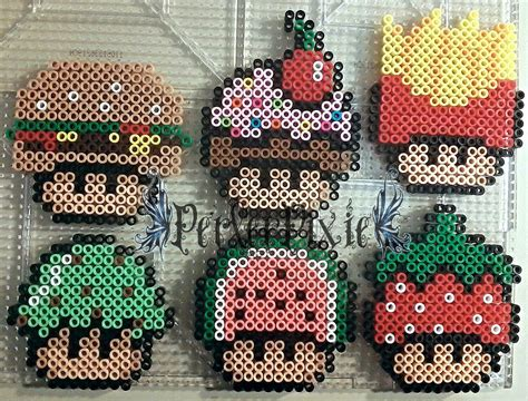 food perler food mushrooms 1 by perlerpixie on deviantart