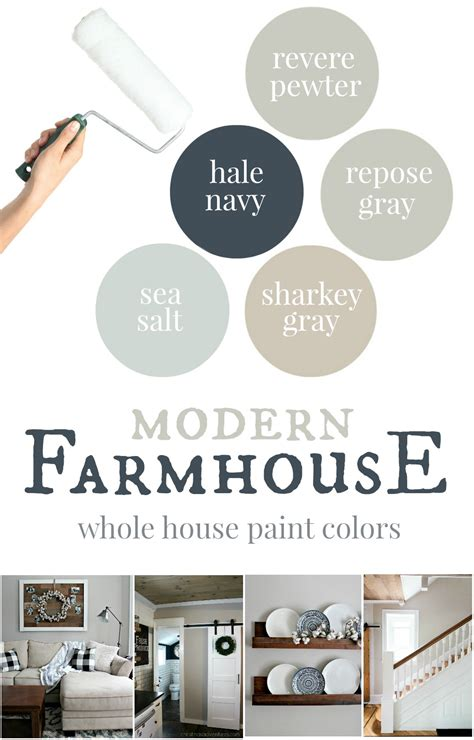 paint colors for farmhouse interior our house modern farmhouse paint colors christinas