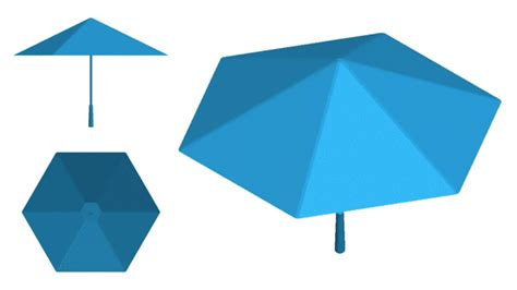 origami umbrella an origami umbrella that has no support skeleton wired