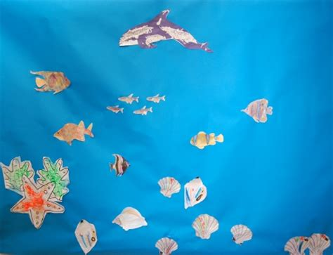 underwater crafts for days out diary crafts underwater sea aquarium