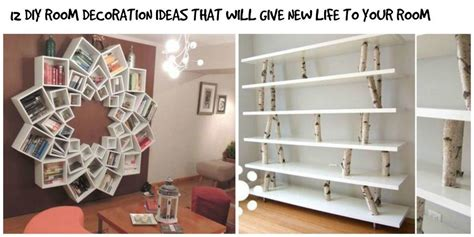 ideas for decorating room 12 simple diy room interior decoration ideas