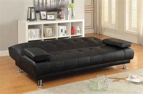 black sofa bed for sale sofa beds and futons faux leather convertible sofa bed