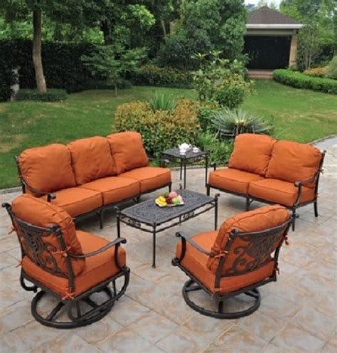 aluminum patio furniture sets grand tuscany collection by hanamint luxury cast aluminum