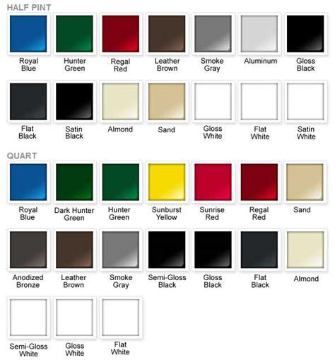 paint colors rustoleum rust oleum paint colors chart myideasbedroom