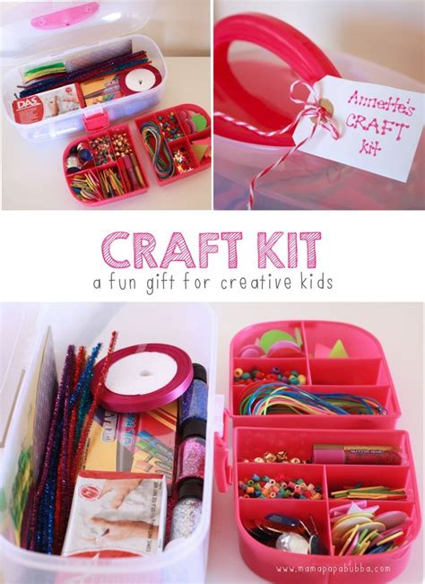 kid craft gift ideas craft kit papa bubba what a great gift idea for