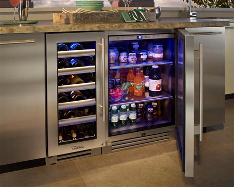 Metal Island Kitchen outdoor refrigeration fireside outdoor kitchens