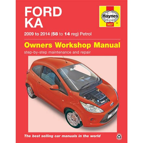 what is the best auto repair manual 2011 honda insight engine control ford ka 1 2 petrol 2009 to 2014 haynes workshop manual