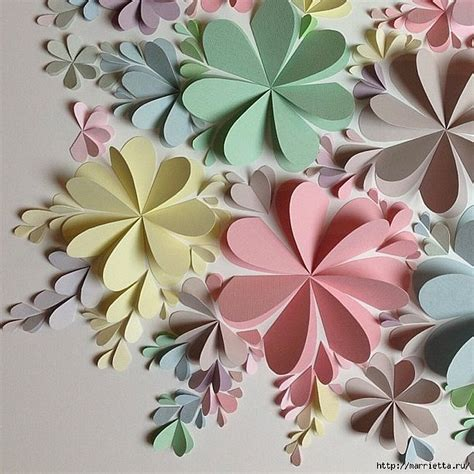 diy paper flowers craft delightful diy paper flower wall free guide and