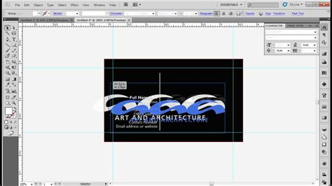 how to make business cards in illustrator cs6 how to design a standard business card using adobe