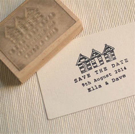 rubber date st huts save the date rubber st by pretty rubber