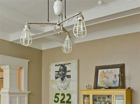 diy dining room light recycled light fixtures diy network made remade