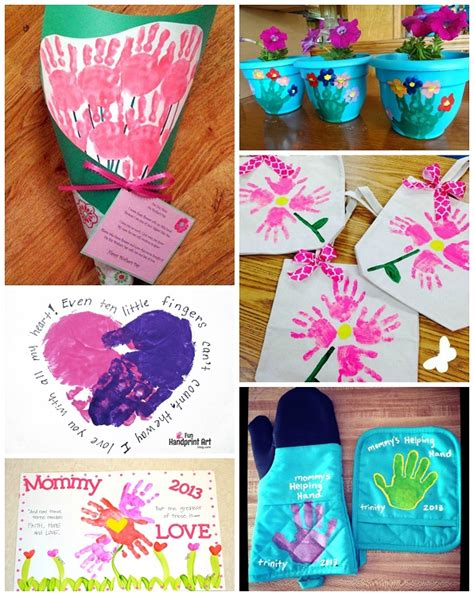 handprint gifts s day handprint crafts gift ideas for to