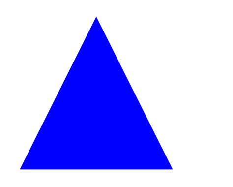 triangle blue an introduction to webgl