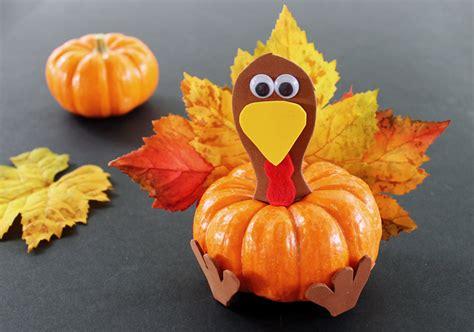 pumpkin crafts pumpkin turkey thanksgiving craft for growing up
