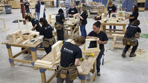 college woodworking these courses produce who are cut out for carpentry