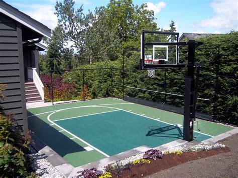 backyard sport courts backyard sport court traditional seattle by sport