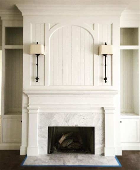 wall mantle 25 best ideas about white brick fireplaces on