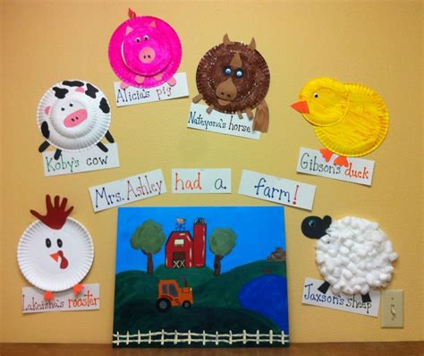 farm animal crafts for 149 best farm baby animals theme images on