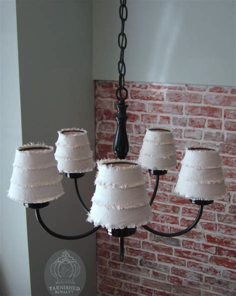 diy chandelier l shades diy pottery barn inspired