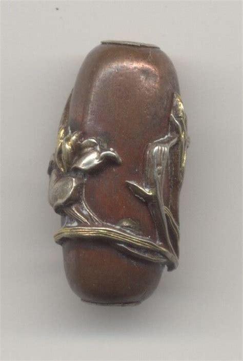 ojime antique 17 best images about shakudo on copper