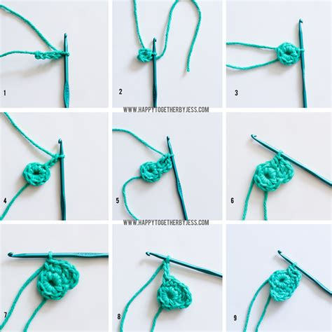 how to knit for beginners step by step how to crochet a flower for beginners step by step www