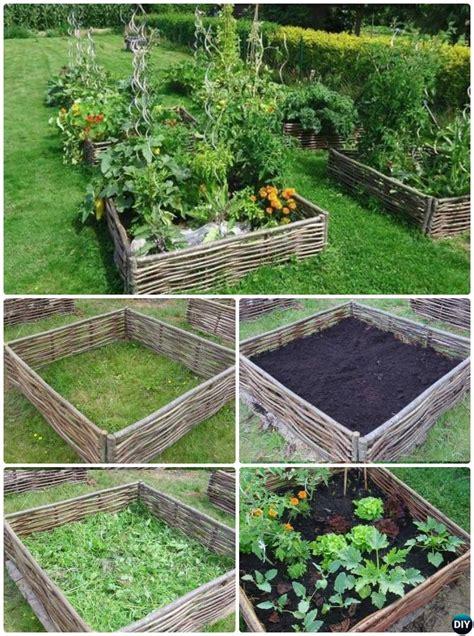 raised garden bed edging ideas creative garden bed edging ideas projects