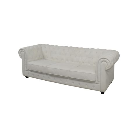 chesterfield tufted leather sofa 75 chesterfield white tufted leather sofa sofas