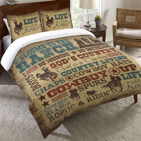 cowboy bedding cowboy lifestyle bedding collection