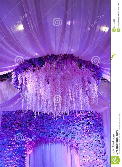decorations images background wedding flowers background design stage stock image