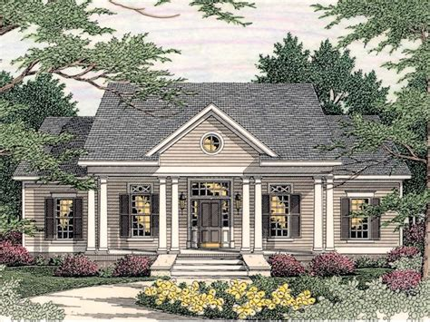 southern home designs southern colonial floor plans 171 unique house plans