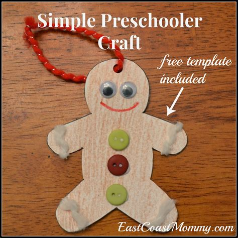 manly craft projects east coast simple gingerbread ornament
