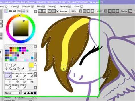 paint tool sai tutorial mlp tutorial hacer pony de cristal en paint tool sai