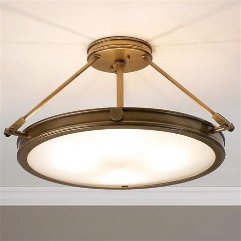 mid century retro ceiling light large shades of light